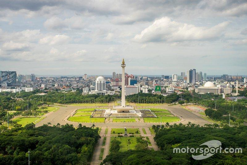 Jakarta yarışı duyurusu