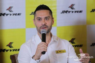 JK Tyre rally announcement