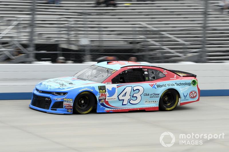 29. Darrell Wallace Jr., Richard Petty Motorsports, Chevrolet Camaro World Wide Technology