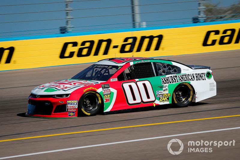 32. Landon Cassill, StarCom Racing, Chevrolet Camaro StarCom Fiber