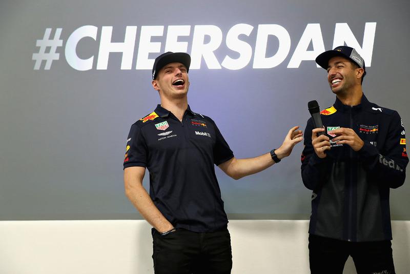 Max Verstappen, Red Bull Racing, Daniel Ricciardo, Red Bull Racing