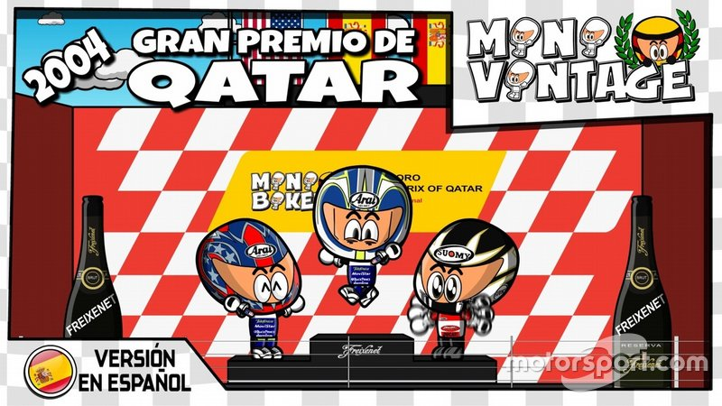 GP Qatar 2004 , Minibikers