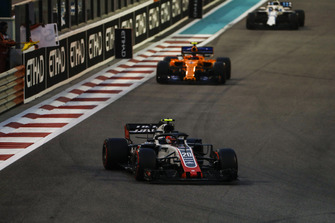 Кевін Магнуссен, Haas F1 Team VF-18, Стоффель Вандорн, McLaren MCL33