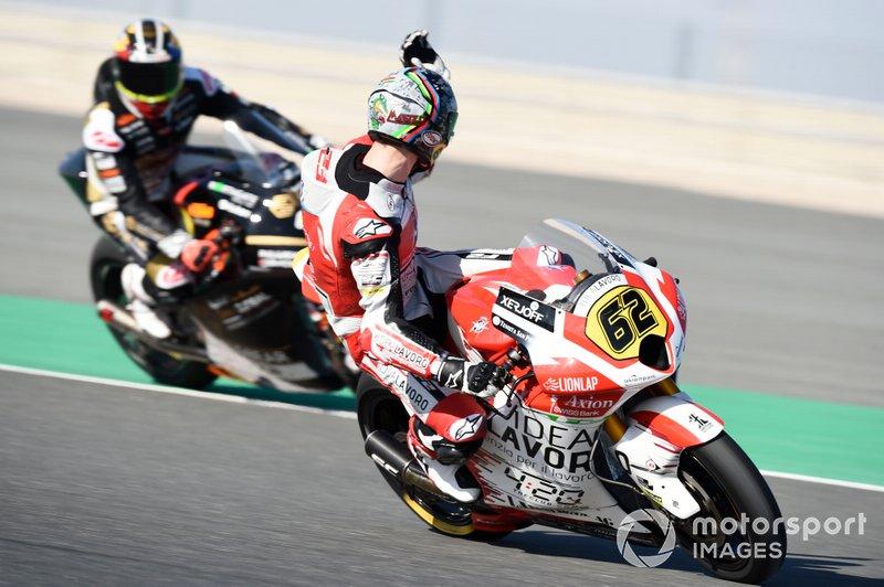 Stefano Manzi, Forward Racing si lamenta con Xavier Cardelus, Angel Nieto Team