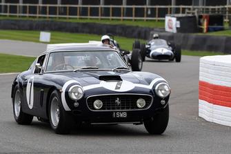 Klassieke Ferrari bij de Rob Walker Tribute