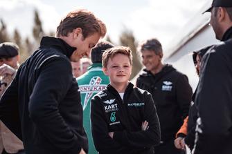 Nico Rosberg e Taylor Barnard