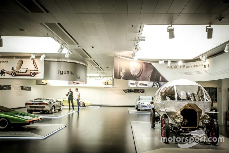 Alfa Romeo esposte nel Museo