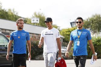 Luca Ghiotto, Campos Racing Sean Gelael, PREMA Racing And Roy Nissany, Campos Racing