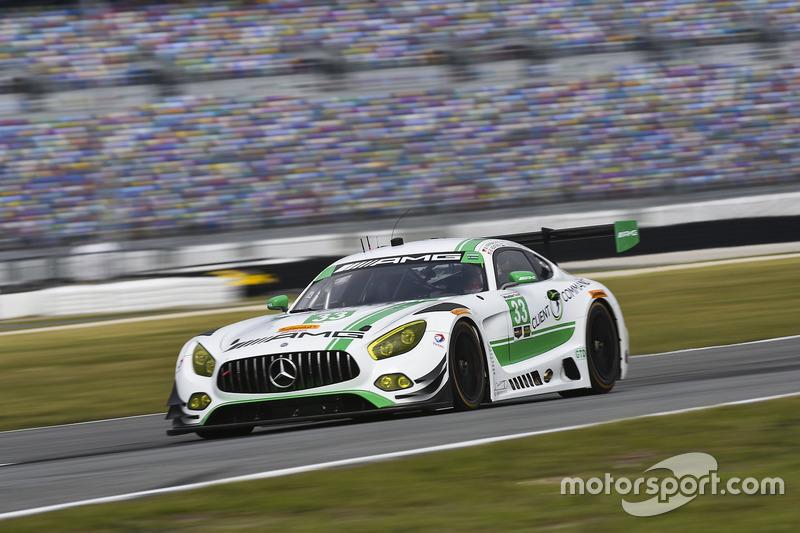 #33 Riley Motorsports, Mercedes AMG GT3: Jeroen Bleekemolen, Ben Keating, Mario Farnbacher, Adam Christodoulou