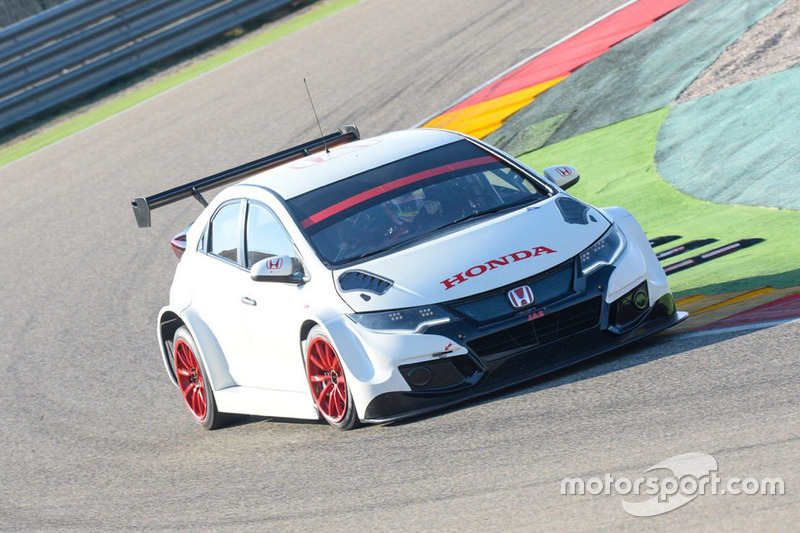 Test Honda ad Aragon