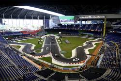 Pista de carreras en Miami