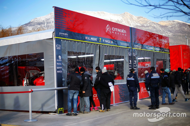 Kris Meeke, Paul Nagle, Citroën C3 WRC, Citroën World Rally Team, Stéphane Lefebvre, Gabin Moreau, Citroën C3 WRC, Citroën World Rally Team