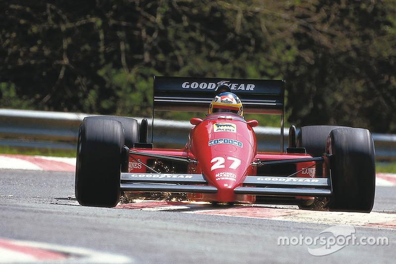 #27 : Michele Alboreto, Ferrari F187