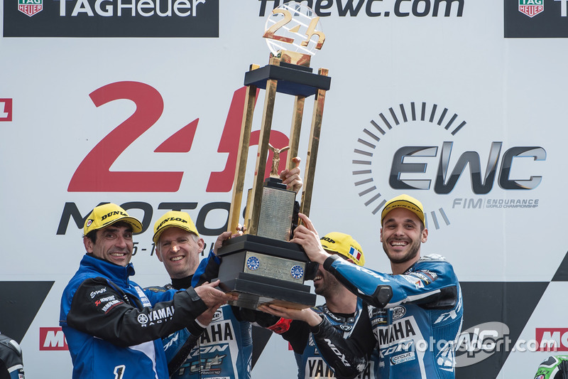 Podium: ganadores, Mike di Meglio, Niccolo Canepa, David Checa