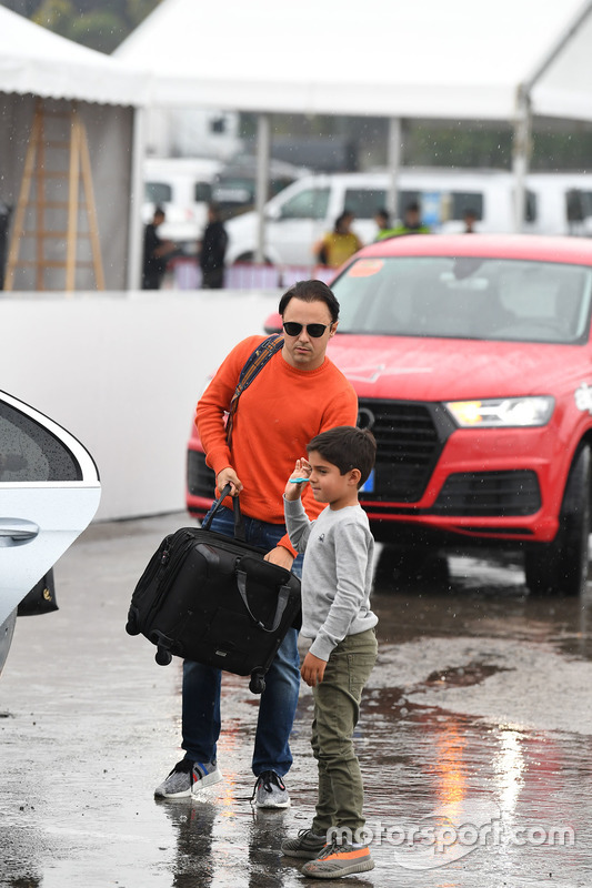 Феліпе Масса, Williams, та його син Феліпіньо