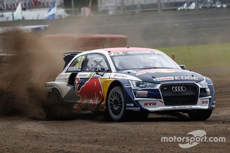 Тоомас Хейккінен, EKS RX Audi S1