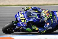 Valentino Rossi, Yamaha Factory Racing, mit neuer Verkleidung