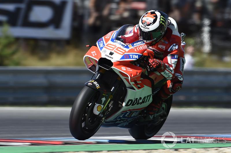Хорхе Лоренсо, Ducati Team, на мотоциклі з новим обтічником