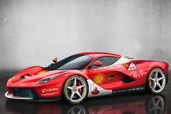 Ferrari LaFerrari im Ferrari-Design