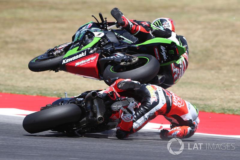 4. Chaz Davies, Ducati Team, Jonathan Rea, Kawasaki Racing