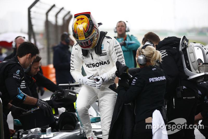 Startaufstellung: Lewis Hamilton, Mercedes AMG