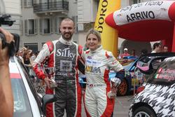 Andrea Crugnola e Moira Lucca, premiazione Rally del Ticino