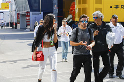 Fernando Alonso, McLaren, girlfriend Linda Morselli