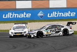 Crash: Paul Di Resta, Mercedes-AMG Team HWA, Mercedes-AMG C63 DTM; Tom Blomqvist, BMW Team RBM, BMW M4 DTM