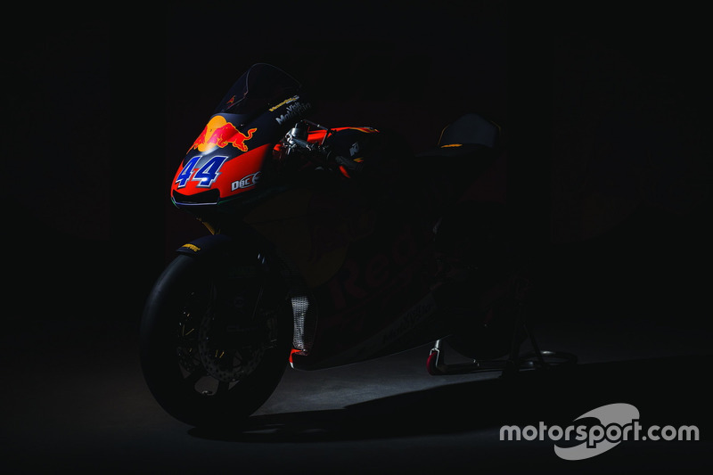 The bike of Miguel Oliveira, Red Bull KTM Ajo