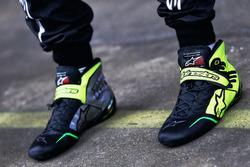 Sergio Perez, Sahara Force India F1- Alpinestars Racing Boots