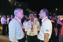 Tan Sri Azman, Chairman of Sepang International Circuit and Chase Carey, Chief Executive Officer and