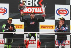 Podium : deuxième place pour Leon Haslam, Puccetti Racing