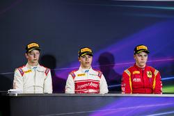 1. Nyck De Vries, Rapax; 2. Johnny Cecotto, Rapax; 3. Gustav Malja, Racing Engineering