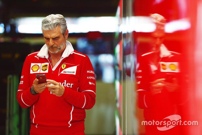 Maurizio Arrivabene, Teamchef, Ferrari