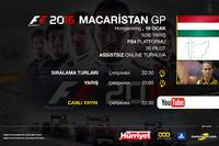 F1 2016 Turnuvası Macaristan GP