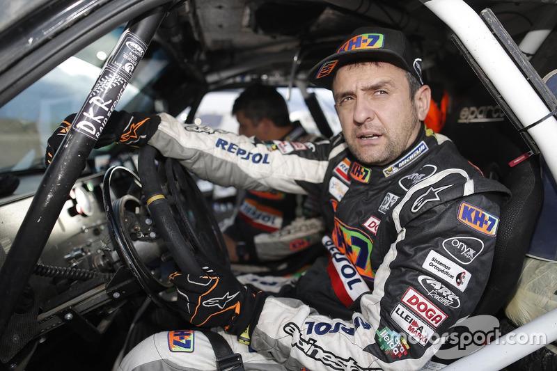 №340 KH-7 Rally Team, Mitsubishi: Исидре Эстев Пуйоль и Чема Вильялобос