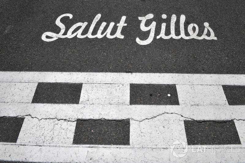 Salut Gilles Tribute an Gilles Villeneuve