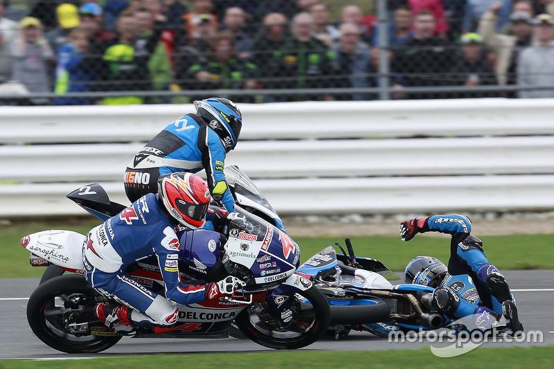 Jorge Navarro, Estrella Galicia 0,0 crash