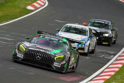 Stefan Mücke, Renger Van der Zande, Christian Hohenadel, HTP Motorsport, Mercedes AMG GT3