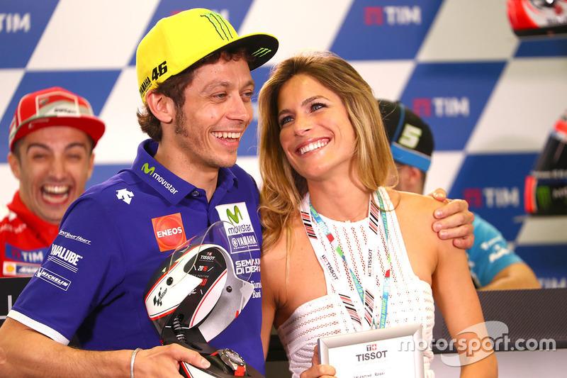 Mugello 2016 - Bromas con la ex mujer de Max Biaggi