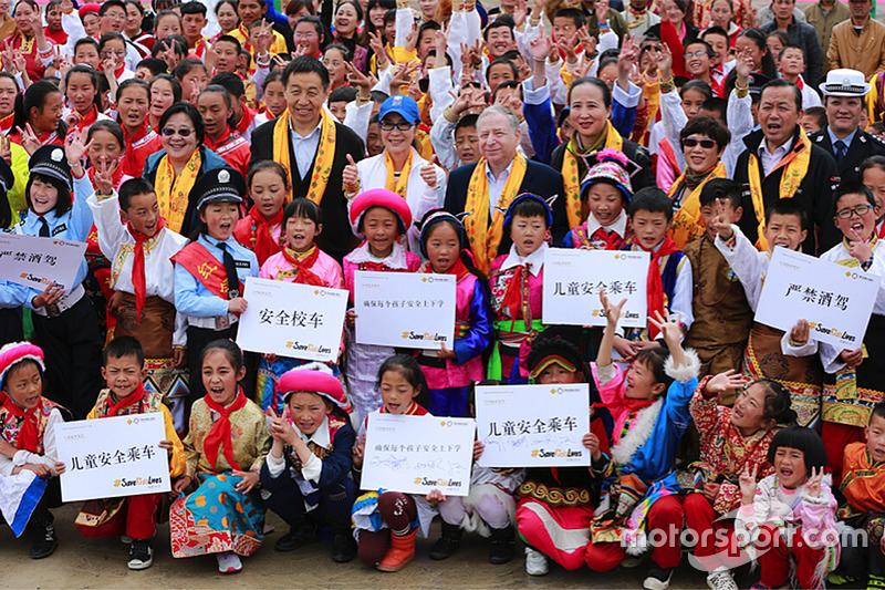 Jean Todt visits Shangri-La in China