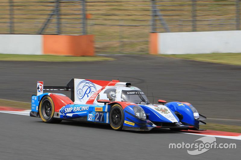 10. LMP2: #27 BR01 - Nissan: Maurizio Mediani, Nicolas Minassian, Mikhail Aleshin