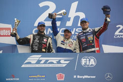 Podium: 1. Jochen Hahn, MAN; 2. Norbert Kiss, Mercedes-Benz; 3. Adam Lacko, Freightliner