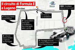 ePrix di Lugano, il circuito