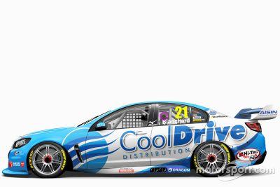 Brad Jones Racing lancering kleurschema