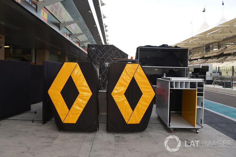 Le matériel de Renault F1