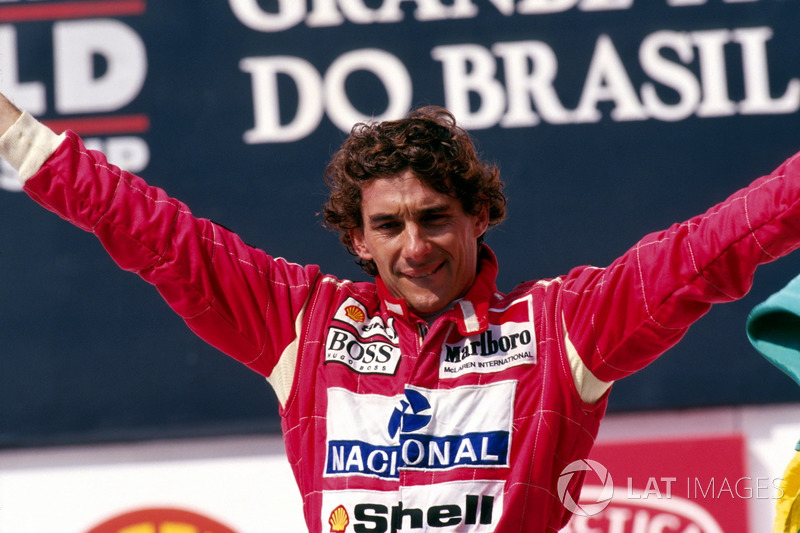 5º Ayrton Senna (41 victorias)
