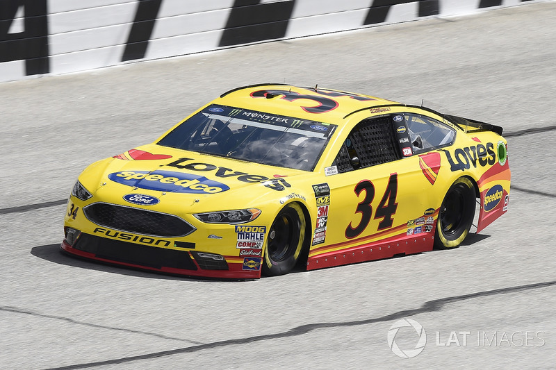 17. Michael McDowell, No. 34 Front Row Motorsports Ford Fusion