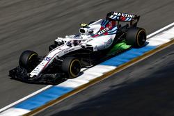 Sergey Sirotkin, Williams FW41, with aero paint