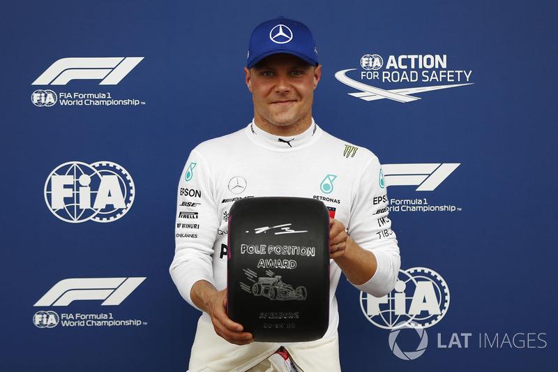 Poleman: Valtteri Bottas, Mercedes AMG F1